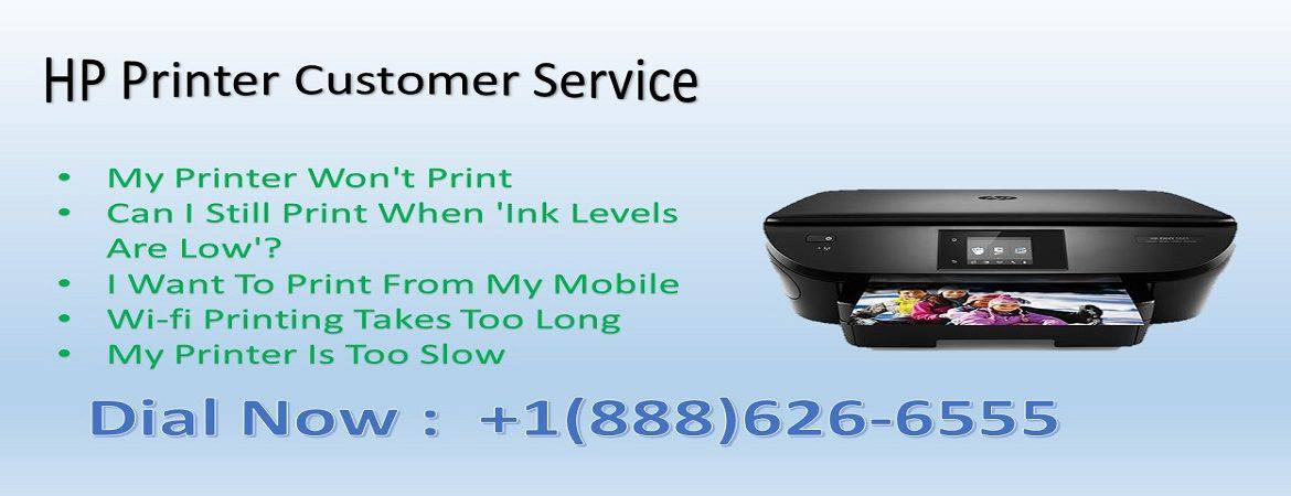 Hp printer customer support